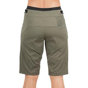 Cube AM Baggy Shorts inclusief binnenbroek Dames, olive